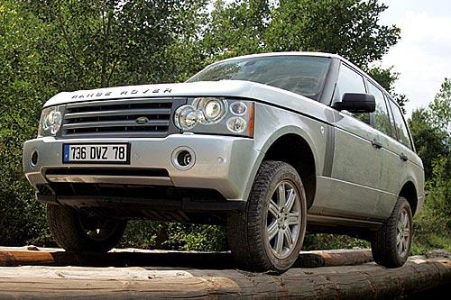 Range Rover V8: Kraftvoll ins Gelände
