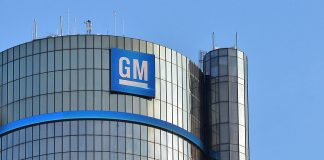 Die Zentrale von General Motors in Detroit