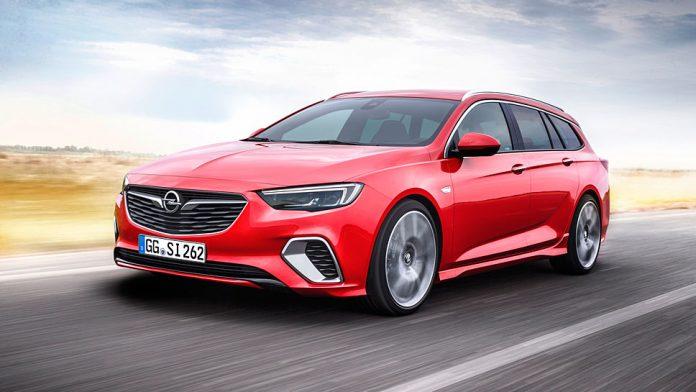 Opel bietet den Insignia GSi auch als Kombi an