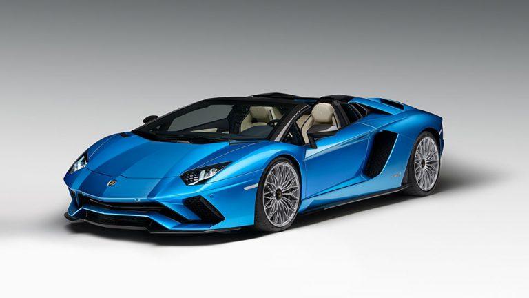 Lamborghini öffnet Aventador S