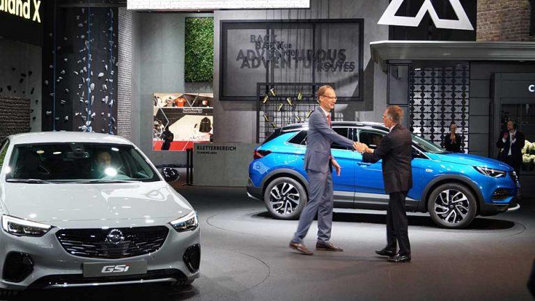 Erste IAA unter französischer Flagge: Bonjour Opel