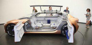 Die Renault-Studie Symbioz verknüpft Auto und Wohnraum miteinander