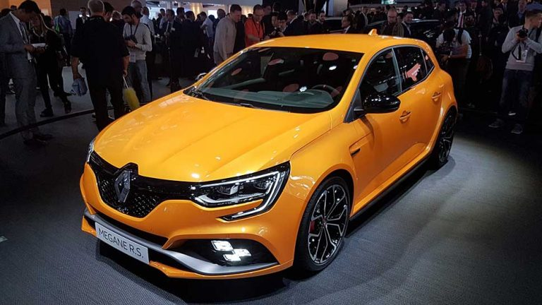 Renault enthüllt neuen Mègane RS