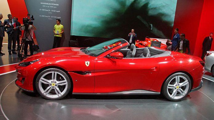 Ferrari hat den Portofino auf der IAA enthüllt