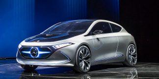 Mercedes startet 2019 mit seiner Elektromarke EQ
