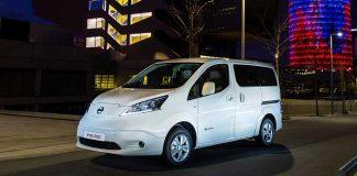 Der Nissan e-NV 200 Evalia kann bis zu sieben Personen rein elektrisch mitnehmen