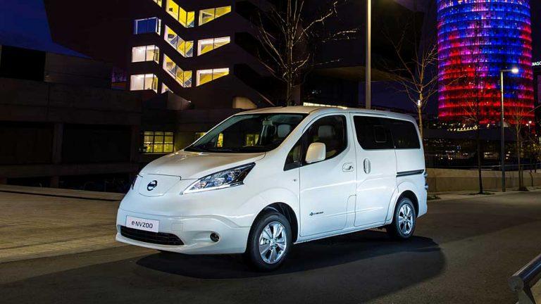 Nissan e-NV 200 Evalia: Abseits jeglicher Reichweitenängste