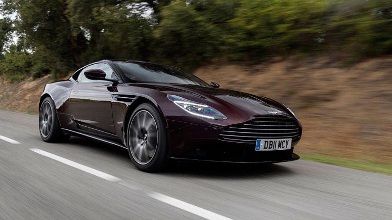 Aston Martin DB11 V8: Unterstützung aus Affalterbach