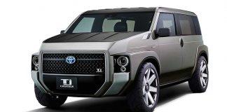 Toyota präsentiert die Studie Tj Cruiser