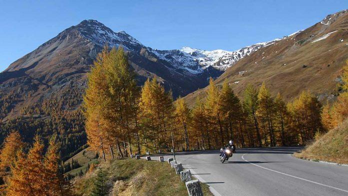 Auch im Herbst können noch Touren mit dem Motorrad unternommen werden