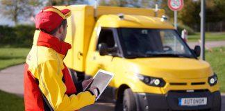 ZF steuert die DHL-Streetscooter autonom zum Kunden