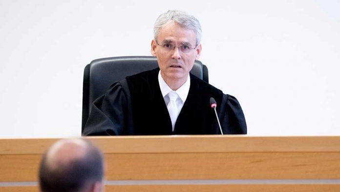 Der Vorsitzende Richter Matthias Wiese