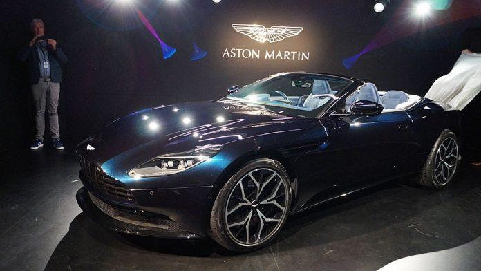 Aston Martin zeigte den DB11 Volante exkusiv am Rande der IAA