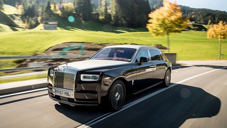 Rolls-Royce Phantom: Anstrengungsloses Gleiten