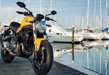 Die Ducati Monster 821 ist die erste von insgesamt fünf neuen Modellen