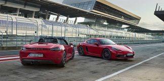 Porsche bringt 718 Boxster und 718 Cayman auf GTS-Niveau