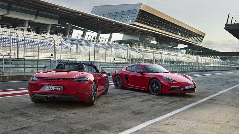 Porsche legt bei Cayman und Boxster drauf