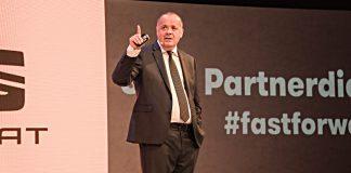 Bernhard Bauer, Geschäftsführer von Seat Deutschland