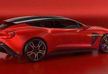 Zagato hat den Aston Martin Vanquish in einen Shooting Brake verwandelt