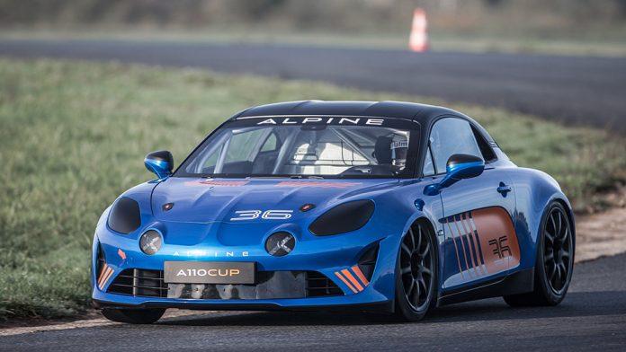 Renault plant einen Markenpokal für die Alpine A110