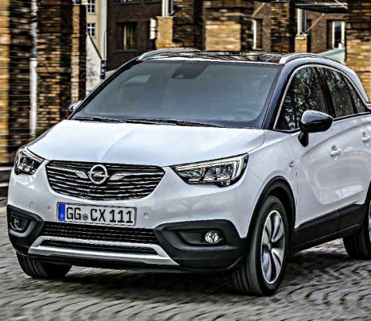 Der Opel Crossland X.