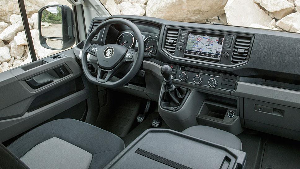 VW vergrößert das Einsatzgebiet des Crafter