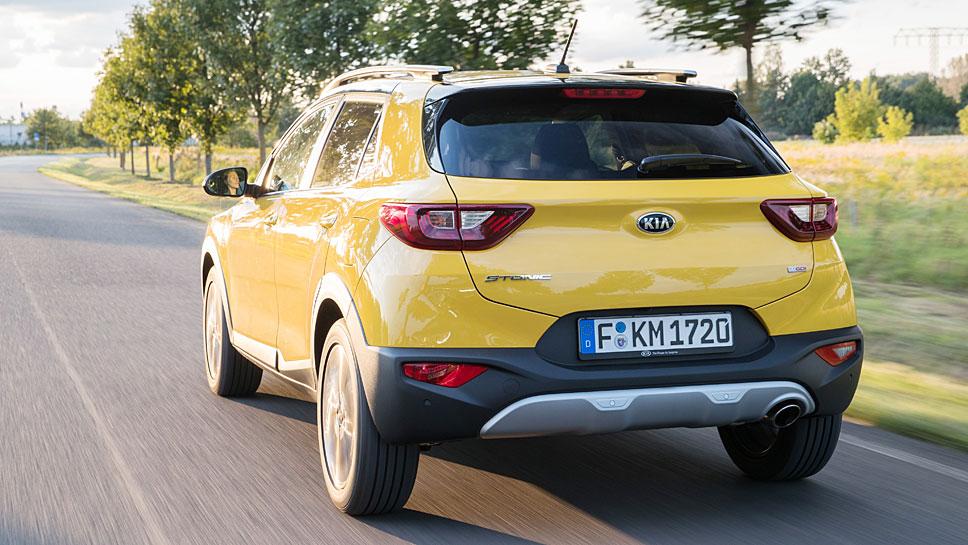 Kia steigt mit dem Stonic in das Segment der Mini-SUV ein