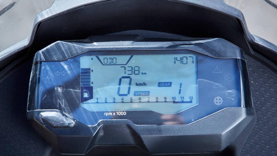 Das Cockpit der G 310 GS