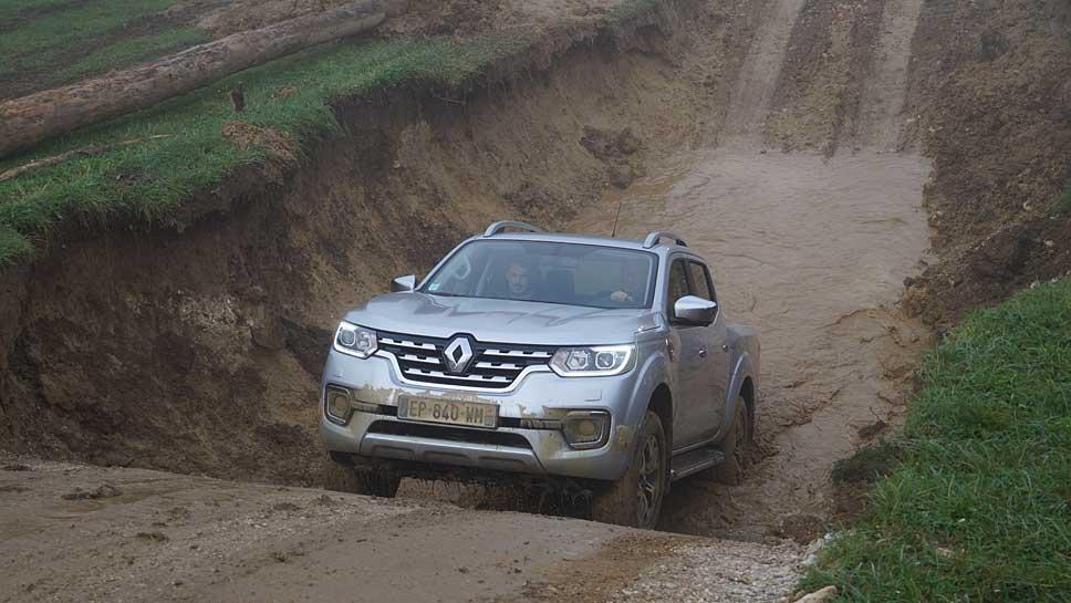 Renault feiert Pickup-Premiere mit dem Alaskan