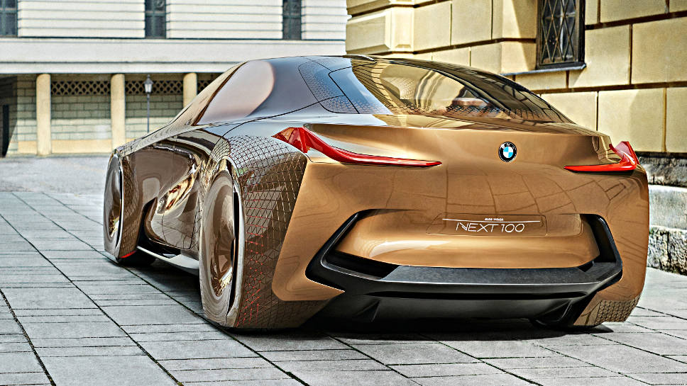 Ausblick in die Zukunft: der BMW Vision Next 100.