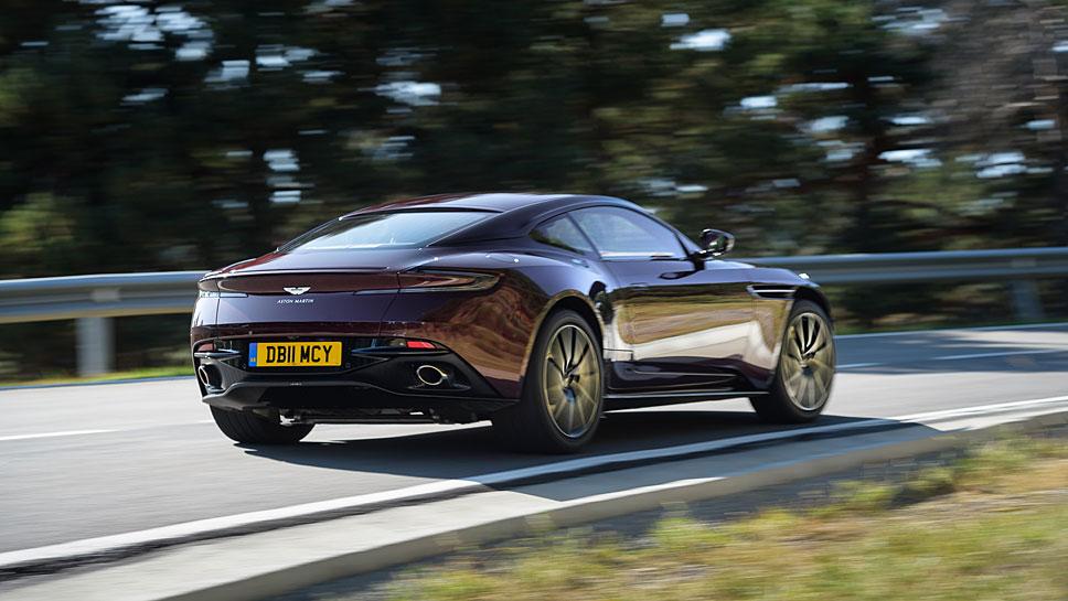 Der Aston Martin DB 11 ist mit nur acht Zylindern noch sportlicher
