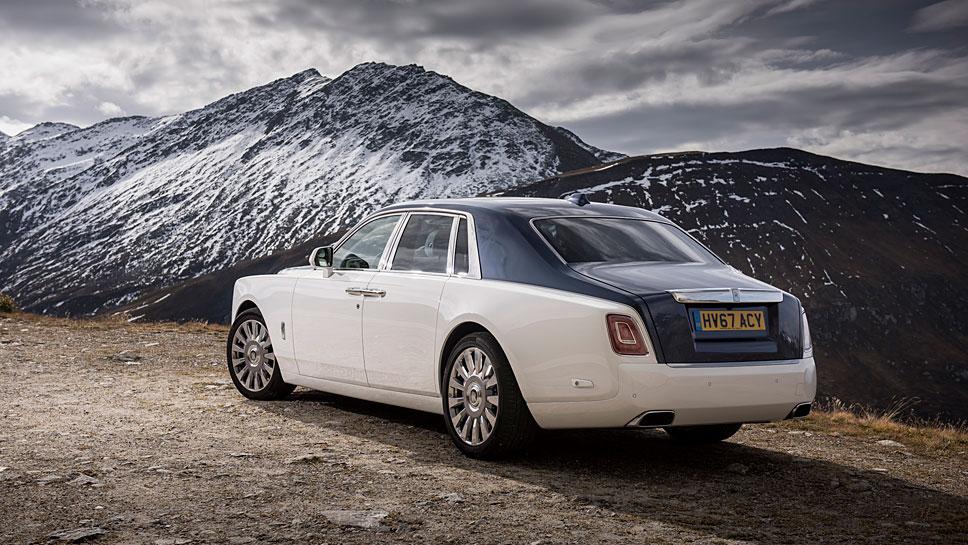 Rolls-Royce hat den Phantom neu aufgelegt
