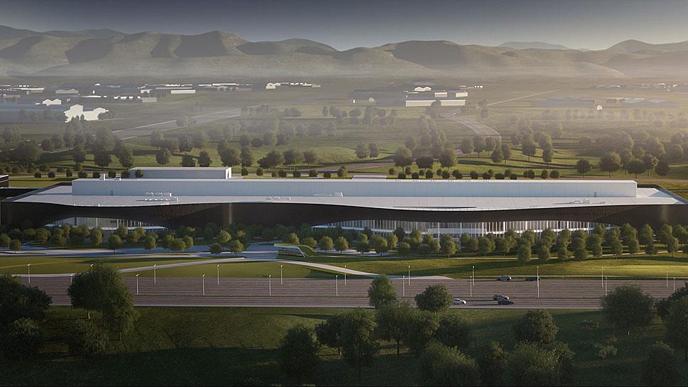 Das Polestar-Entwicklungszentrum in Chengdu