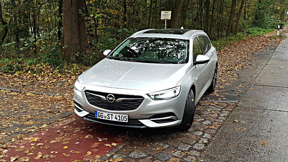 Der Opel Insignia ST.
