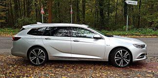 Der Opel Insignia ST bringt es auf eine Länge von fast 5 Metern.