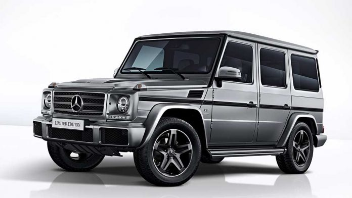 Mercedes bringt die G-Klasse als finale Limited Edition