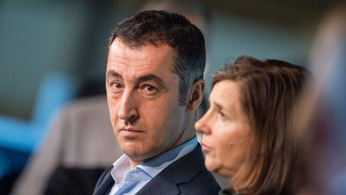 Cem Özdemir und Katrin Göring-Eckardt vor den Sondierungsgesprächen.