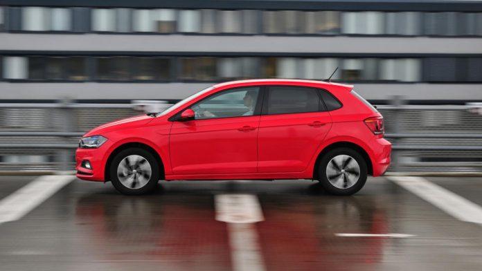 Der VW Polo mit Erdgasantrieb.