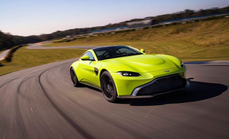 Aston Martin Vantage James Bond Lässt Grüßen Autogazette De