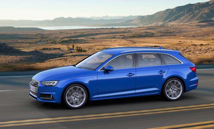 Der Audi A4 Avant G-Tron. Foto: Audi