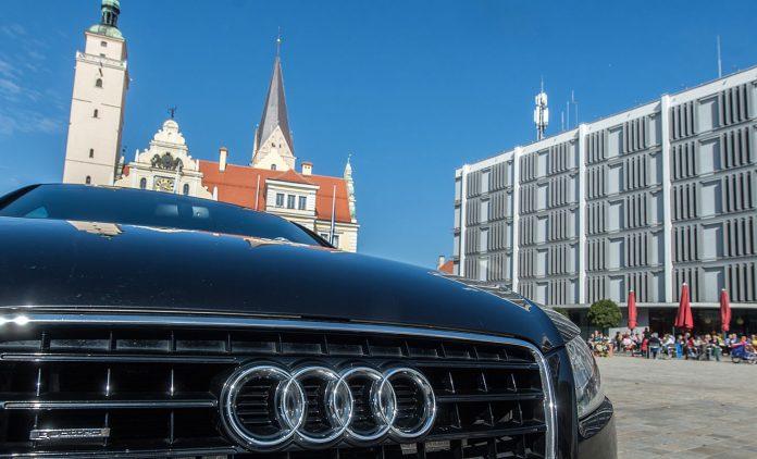 Ein Audi in Ingolstadt. Foto: dpa