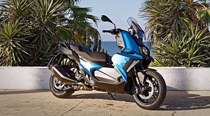 Der BMW MIttelklasse-Roller C 400 X. Foto: BMW