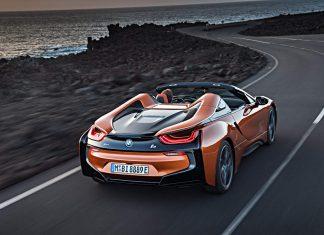 Der BMW i8 Roadster. Foto: BMW