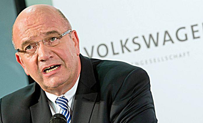 Bernd Osterloh ist Betriebsratschef bei VW. Foto: dpa