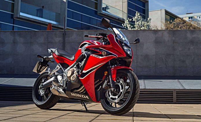 Mitteklasse-Motorrad Honda CBR650F