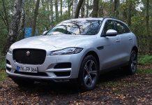 Der Jaguar F-Pace. Foto: AG/Flehmer
