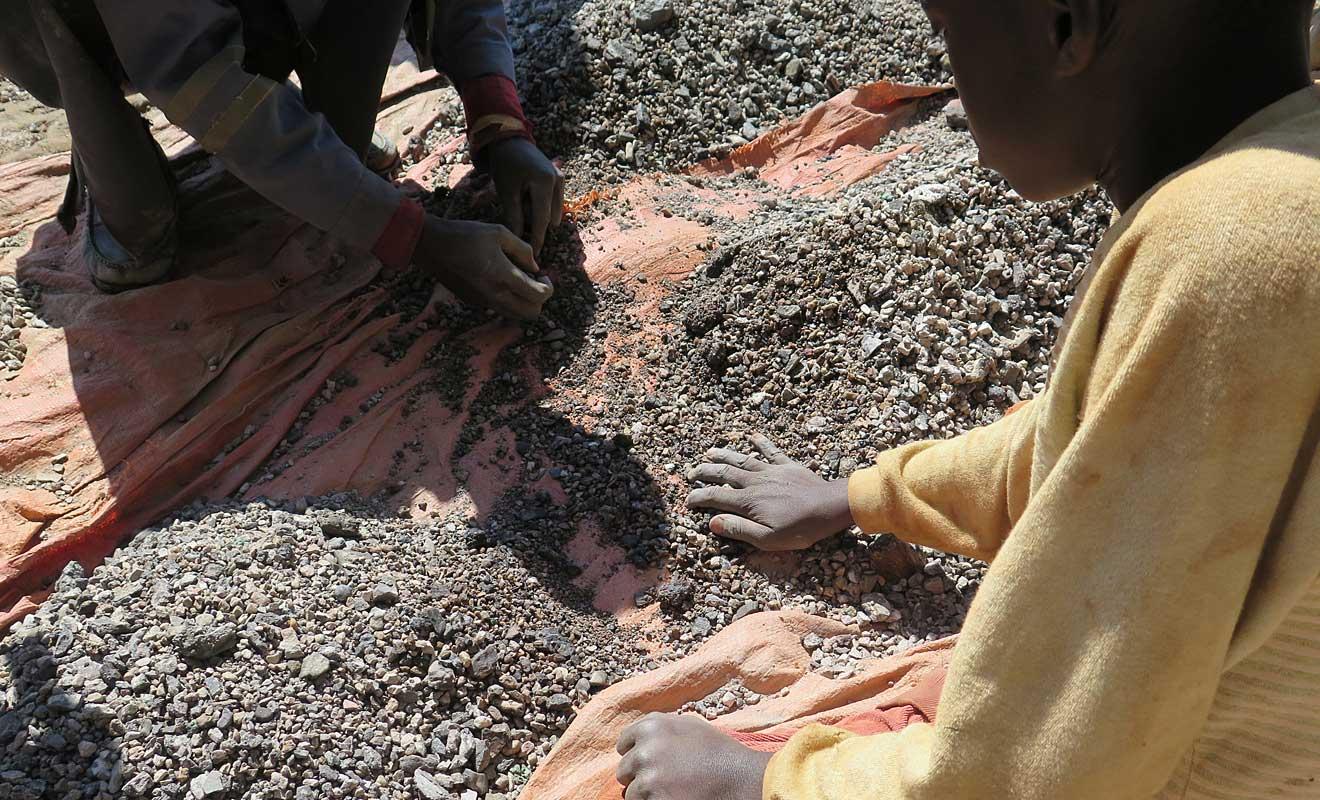 Kinderarbeit in der Kobaltmine