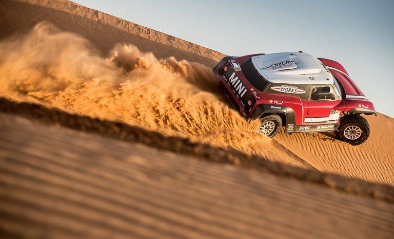 Mini schickt Buggy zur Dakar