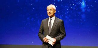 VW-Chef Matthias Müller. Foto: VW