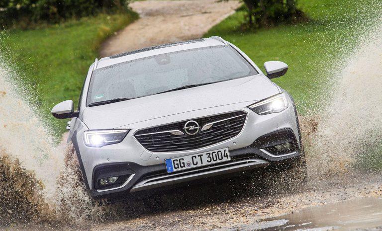 Opel Insignia Country Tourer: Gewappnet für den Winter